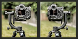 Left-Facing and Right-Facing Gimbal Positions..